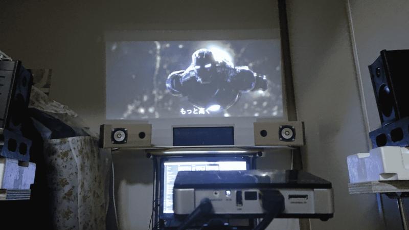 アイアンマンプロジェクター投影