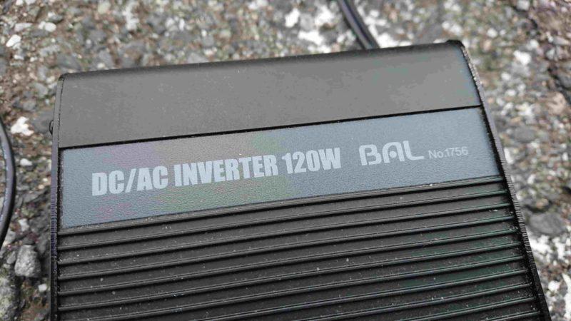 120wDC/ACインバーター