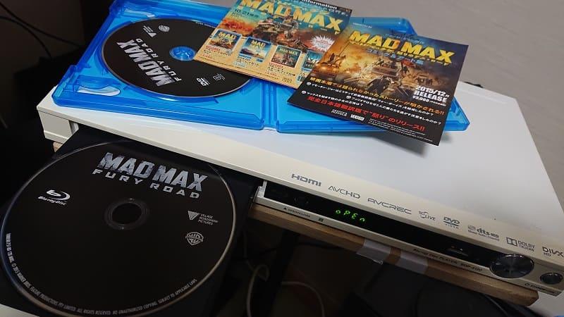 マッドマックスのBlu-rayソフト
