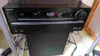 AVアンプの調整TX-NA609